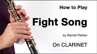 Fight Song (Rachel Platten) for CLARINET!