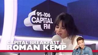 "Camila Cabello ""Despacito"" (spanish version) Cover at Capitalfm Interview"
