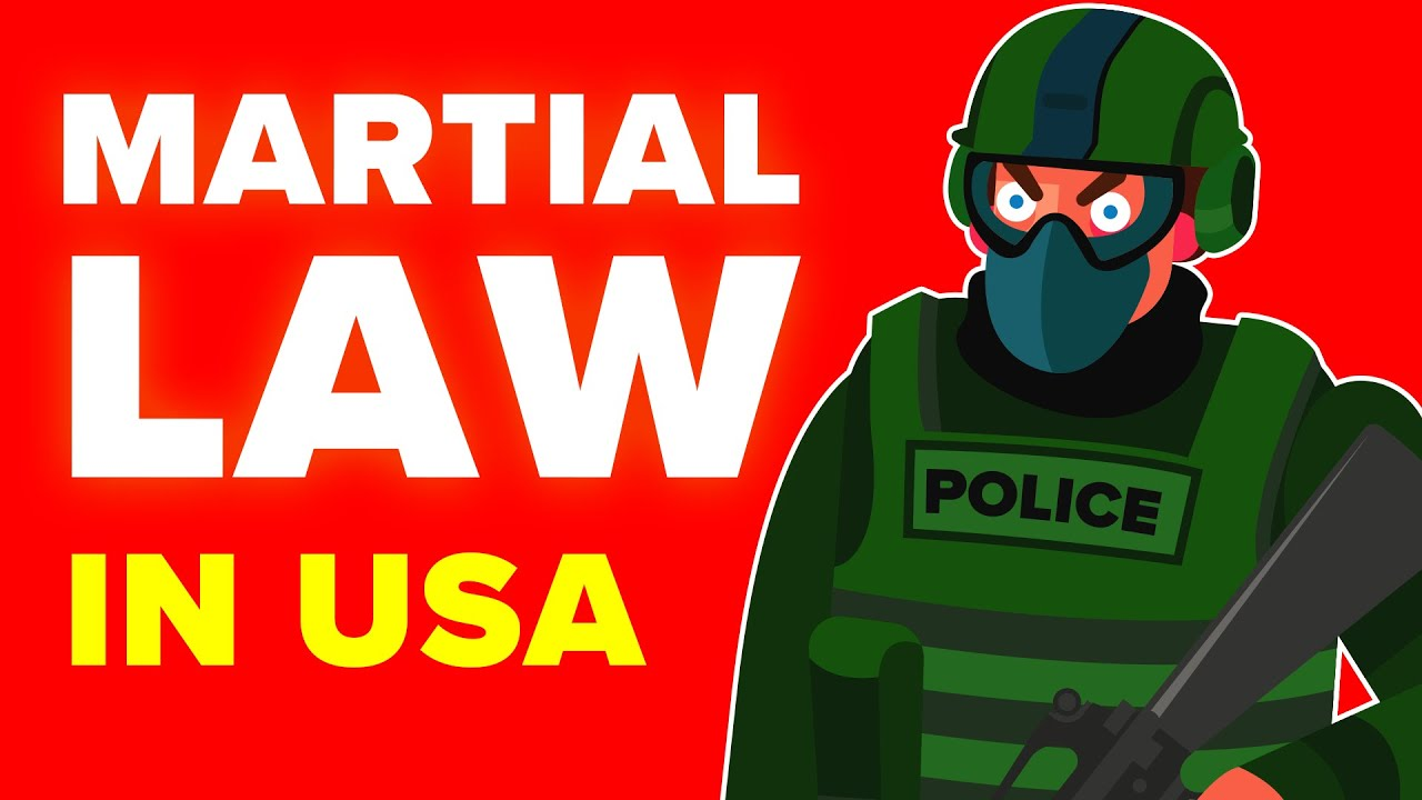 Here's What Martial Law In The US Would Actually Look Like
