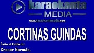 Karaokanta - Crecer Germán - Cortinas Guindas