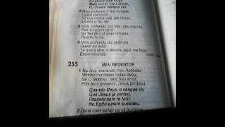 "HARPA CRISTÃ HINO N ` 254 """"MAIS PERTO DE JESUS "" """