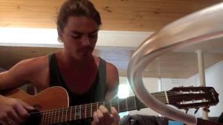 Bonobo Black Sands Acoustic Guitar Cover
