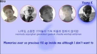 DAY6 - Letting Go (놓아 놓아 놓아) {Color Coded Lyrics + Hangul + Rom + Eng Sub}
