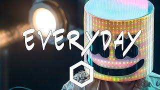 Marshmello & Logic - Everyday (Lyrics)
