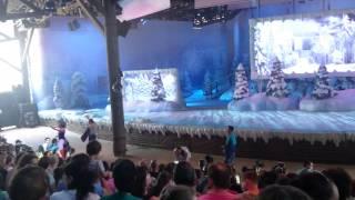 Spectacle la reine des neiges une fête givree