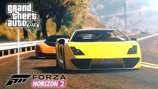 Forza Horizon 2 - Launch Trailer | GTA V Remake