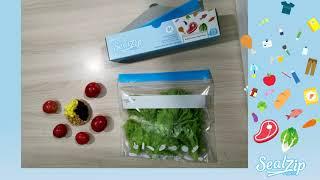 เทคนิคการถนอมผักให้สดใหม่ l Sealzip