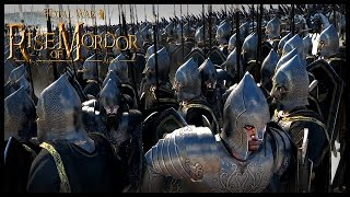 Gondor's Desert Crusade - Surrounded And Outmatched | Rise Of Mordor Total War Gameplay