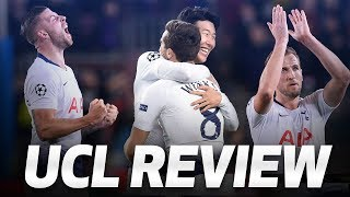 SPURS' CHAMPIONS LEAGUE GROUP STAGE REVIEW