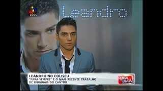 Leandro no Jornal da Uma - 26.05.13 (Coliseu dos Recreios)