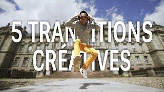 5 TRANSITIONS CRÉATIVES pour vos VIDÉOS & VLOG (sans effets ajoutés)