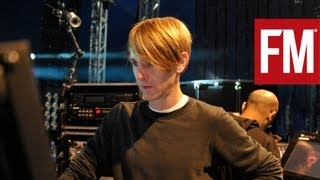 Richie Hawtin Plastikman Live stage tour with Future Music