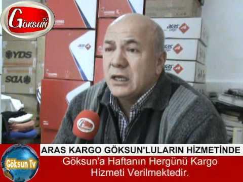 ARAS KARGO GÖKSUN'LULARIN HİZMETİNDE