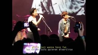 Tegan and Sara - Girls Just Want to Have Fun Live Cover w/Jack Johnson (Subt Inglés - Español)