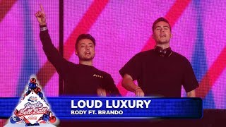 Loud Luxury - 'Body' FT. Brando (Live at Capital's Jingle Bell Ball 2018)