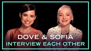 Descendants 2 Stars Dove Cameron and Sofia Carson Interview Each Other | Disney Style
