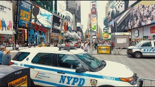 Times Square Manhattan New York DJI OSMO (4K)