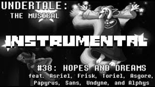 Hopes and Dreams Instrumental - Undertale the Musical (Original + Orchestra)