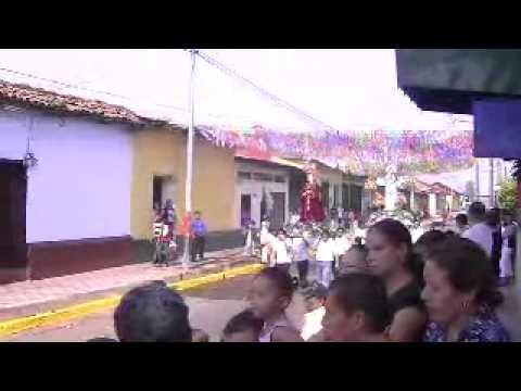Viernes Santo Viacrucis del templo de Zaragoza León Nicaragua 2011