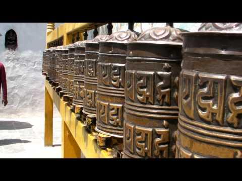 SANY0713.MP4 BoudhaNath Stupa Movie