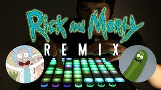 RICK AND MORTY REMIX | Leslie Wai