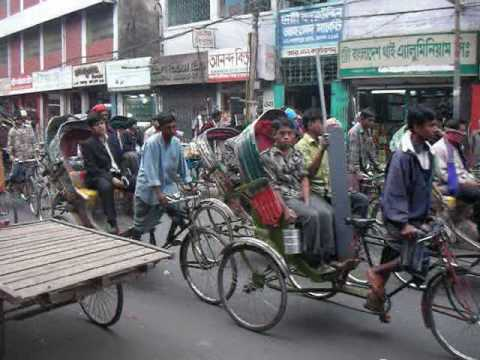Bangladesh: Rickshaws in Dhaka