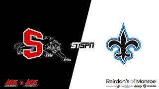BASKETBALL: Saints at Panthers