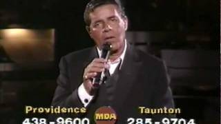 """Jerry Lewis MDA Telethon (1987) """"You'll Never Walk Alone"""""""