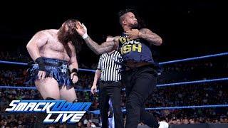 Jeff Hardy & The Usos vs. SAnitY: SmackDown LIVE, June 26, 2018