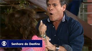 Senhora do Destino: capítulo 122 da novela, quinta, 31 de agosto, na Globo