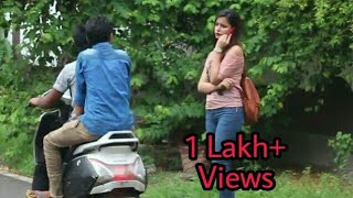 Alone girl on road funny||Round 2 hell||vines||prank||Apna amazing india