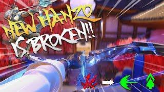 NEW HANZO REWORK IS INSANE!! - Overwatch PTR