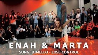 Enah & Marta Urban Kiz Dance @ KIZMI 2016 | Dimello - Lose Control