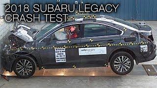 Subaru Legacy (2018+) Frontal Crash Test width=