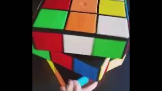 3D rubiks cube cake