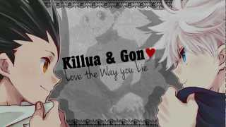 【AMV】 Killua & Gon ♥ -  Love The Way You Lie 「Hunter x Hunter」