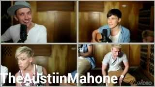 Justin Bieber - All around the world ( Duet Cover By Tucker And Dylan Holland )