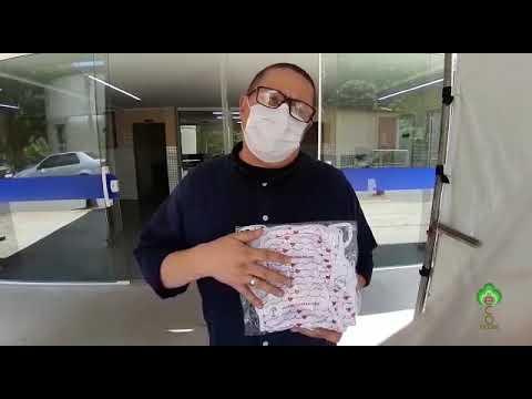 Máscara duplo tecido EcoModas - Referência 73