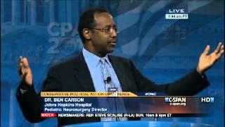 Dr. Ben Carson's CPAC 2013 Speech