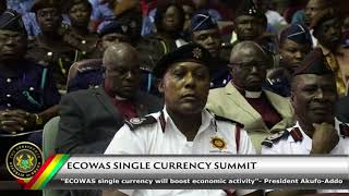 ECOWAS Single Currency Summit in Accra