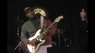 Fender Stratocaster Blues Rock Guitar Solo Performance Major/Minor Scales EricBlackmonGuitar