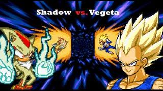 Shadow vs Vegeta Quien Ganaria