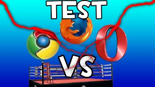 CHROME VS MOZILLA VS OPERA MINI / CUAL ES MAS RAPIDO?