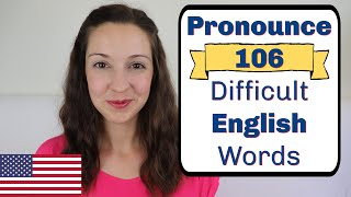 20 EASY ENGLISH words you COMMONLY MISpronounce! | English