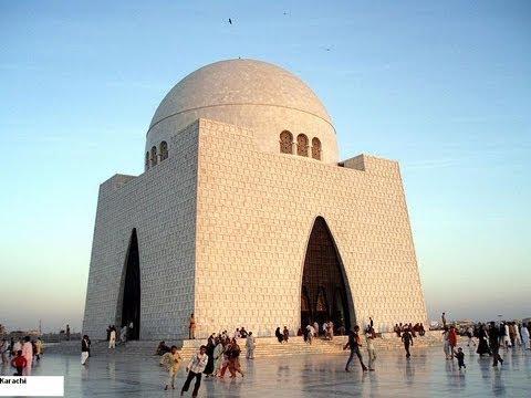 Mausoleum Muhammad Ali Jinnah in Karachi