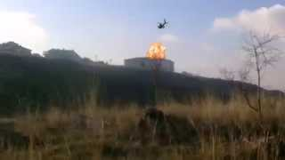 Helikopterin Okulu Vurması