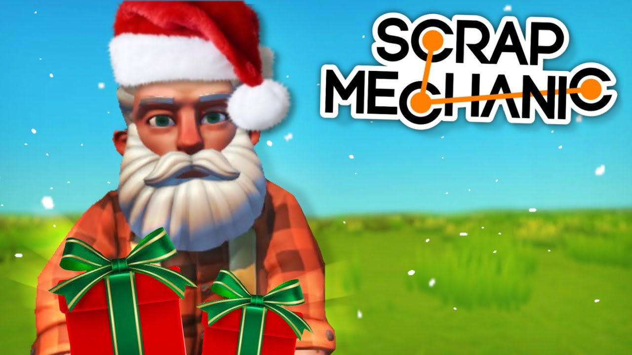 Moonbo - Secret Santa Challenge! Gifting the Best Toy! - Scrap Mechanic Multiplayer Monday