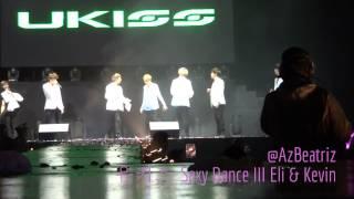 U-KISS (유키스) Sexy Dance III Eli & Kevin PERU 2013