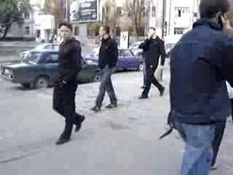 Kharkiv, Ukraine Street Scene 3