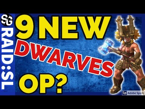 [RAID SHADOW LEGENDS] NEW DWARVES NEW CHAMPS REVIEW